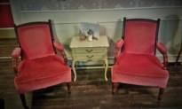 Möbel im Café