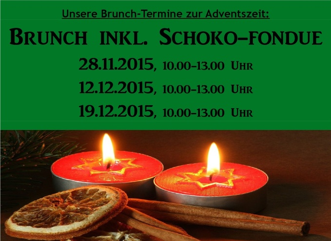 Brunch zur Adventszeit 2015